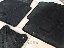 Honda Access Civic Coupe EG EJ1 92-95 FLOOR MATS RHD Black OEM Genuine Rare