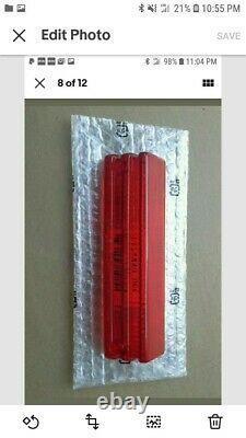 Honda Atc Big Red 250es Oem-nos Tail Light Lense Fits 1985 To 1987 Hondaline Nos