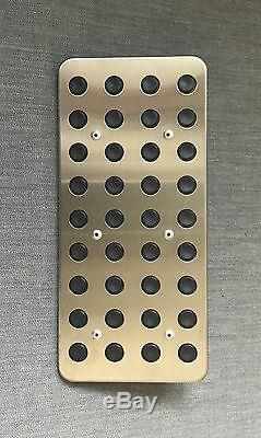 Honda Genuine Aluminum Pedal Pad Cover Kit for Accord/Acura TSX