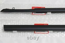 Honda Genuine CRX CR-XFront Door Window Molding R&L 88-91 EF2 EF6 EF7 EF8 OEM