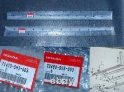 Honda Genuine OEM CRX Front Door Window Molding R&L 88-91 EF2 EF6 EF7 EF8