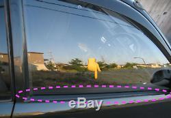 Honda Genuine Oem 92-95 CIVIC Door Window Molding Assy Belt Weather Strip Set