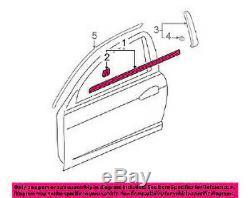 Honda Genuine Oem Acura Rsx Dc5 Door Window Molding Sweep Belt Lef T& Right Set