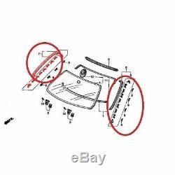Honda Genuine Oem CIVIC Ferio Eg9 Molding Windshield Top & Left & Right 3pcs Set
