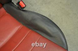Honda S2000 Red Black Leather Seat Passenger Side Genuine Oem 2000-2005