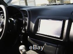 Honda S2000 S2K OEM JDM Navigation Bezel Double Din Dash Genuine Blue 7 LCD