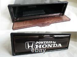 JDM OEM EG Civic 2din Console Brown GLOVE BOX EG6 EG9 Genuine Honda EG4 EG8