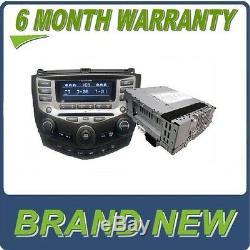NEW 04-07 Honda Accord BLOCK ONLY 6 Disc CD Changer Radio 7BK1 7BK2 7BY1 EXL
