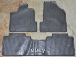 NEW OEM Genuine Honda Ridgeline TU Dark Gray Floor Mats 83600-SJC-A01ZE