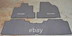 NEW OEM Genuine Honda Ridgeline TU Dark Gray Floor Mats 83600-SJC-A11ZB