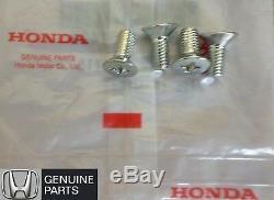 NEW OEM Honda Brake Rotor Screw (FOUR) Fits Accord Civic CRV Fit Pilot Odyssey