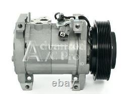 New AC A/C Air Compressor Fits 2003 2004 2005 2006 2007 Honda Accord L4 2.4L