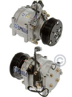 New AC A/C Compressor Fits 02 03 04 05 Honda Civic L4 1.7L AC A/C Compresor