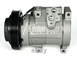 New AC A/C Compressor Fits 2003 2004 2005 2006 2007 Honda Accord V6 3.0L ONLY