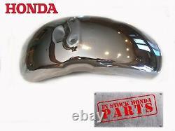 New Front Chrome Fender 1972-1977 Z50 A Genuine Honda OEM Mud Guard In Stock