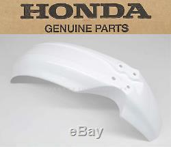 New Genuine Honda Front Fender 86-01 XR200 R XR250 R XR250 L XR600 R OEM #Q09