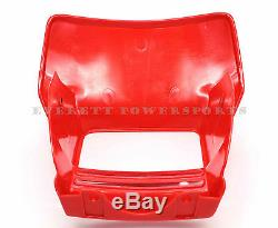 New Genuine Honda Headlight Shroud 1993-2016 XR650 L OEM Red (See Notes) #Y20