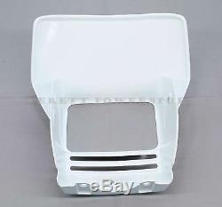 New Genuine Honda Headlight Shroud 2001-2008 XR650 L OEM White (See Notes)#X27