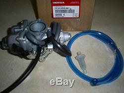 New Genuine Honda Oem 250 Recon New In Box Carburetor 2002-2004 Atv Tm-es-4 Trax