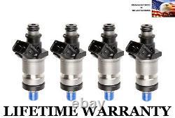 OEM Honda Set of 4 Fuel Injectors for 96 97 98 99 00 Civic EX HX D16Y8 V-TEC 1.6