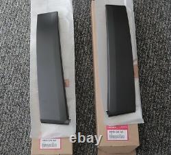 Oem Honda 90-91 Crx Right & Left Side Door Sash Garnish B Pillar Trim