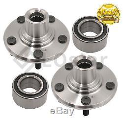 Pair(2) Front Wheel Hub & Bearing Assembly Fits 2005-2010 Honda Odyssey
