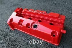 Powder Coated Aluminum Valve Cover Acura RSX Honda Civic K20 K24 JDM Mirror Red