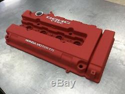Powder Coated Valve Cover Honda Civic B16A2 Acura Integra B18C1 B18C5 JDM Red