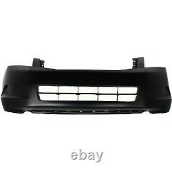 Primed Front Bumper Cover for 2008-2010 Honda Accord Sedan EX-L EX LX HO1000254