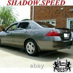 Stock OE Look ABS Rear Trunk Spoiler Wing For 20062007 Honda Accord 4DR Sedan