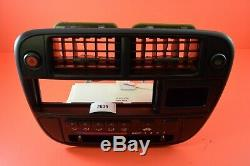 T1 96-98 Civic OEM Center Dash Climate Control AC Air Vent Radio Bezel Trim